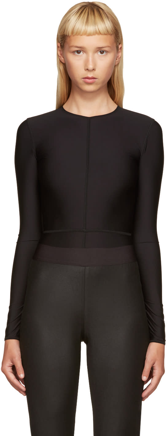 Ann Demeulemeester Black La Fille Do Edition Bodysuit
