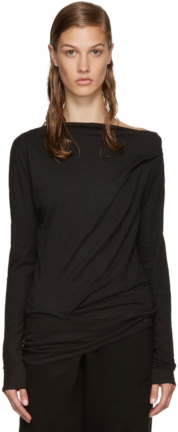 Ann Demeulemeester Black Lucian T-shirt