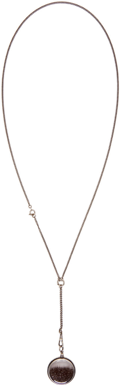 Ann Demeulemeester Silver Stardust Necklace