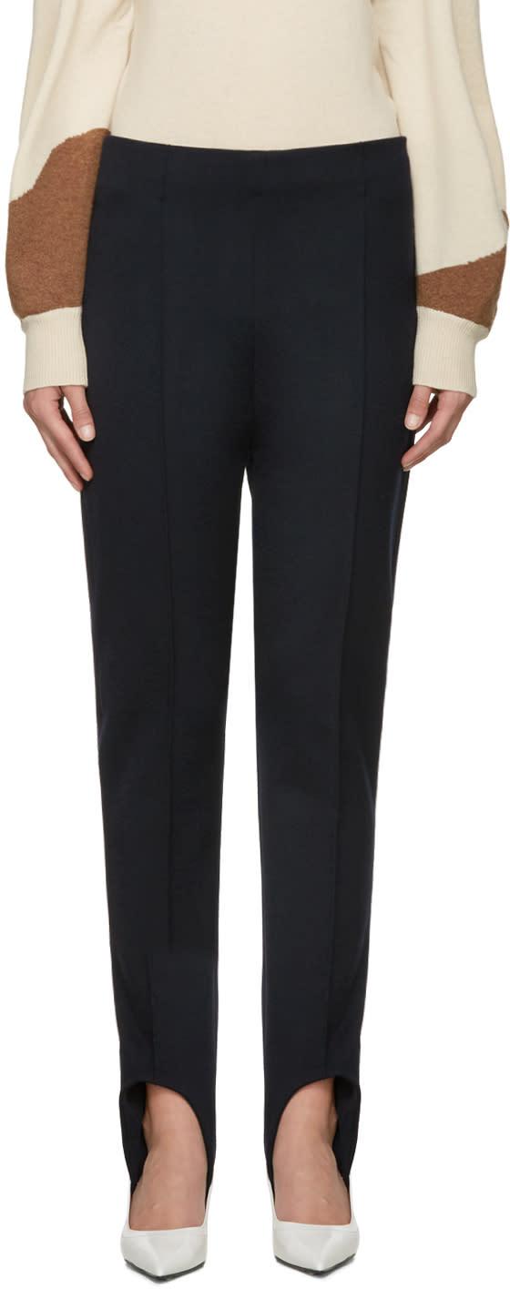 Marni Blue Stirrup Trousers
