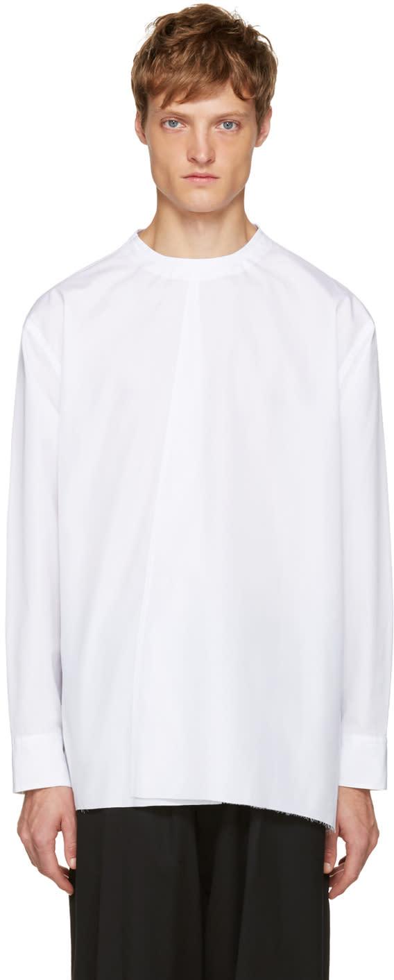 Marni White Buttoned Back Shirt