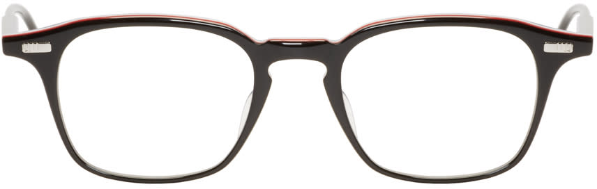 Thom Browne Black Acetate Tb-406 Glasses