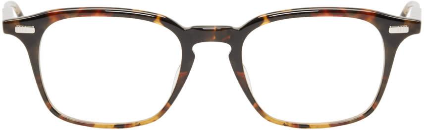 Thom Browne Tortoiseshell Acetate Tb-406 Glasses
