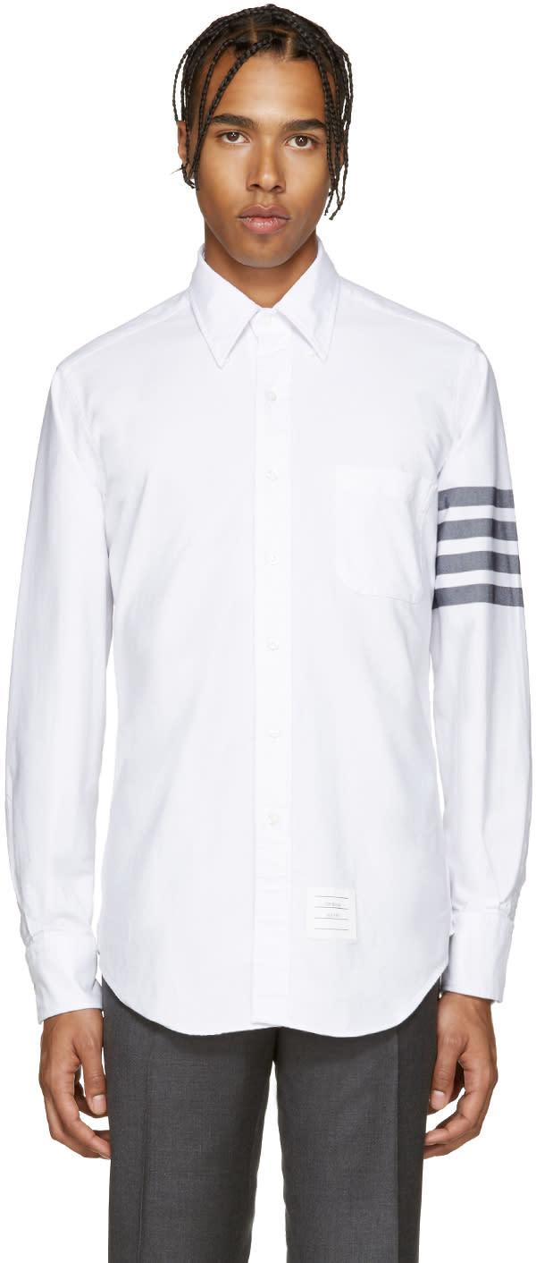 Thom browne shirts men 39 s shirts and clothing at cj for Thom browne white shirt