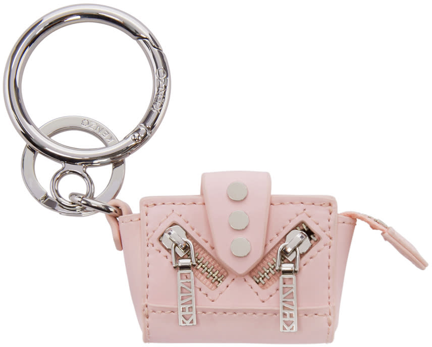 Kenzo Pink Kalifornia Tote Keychain