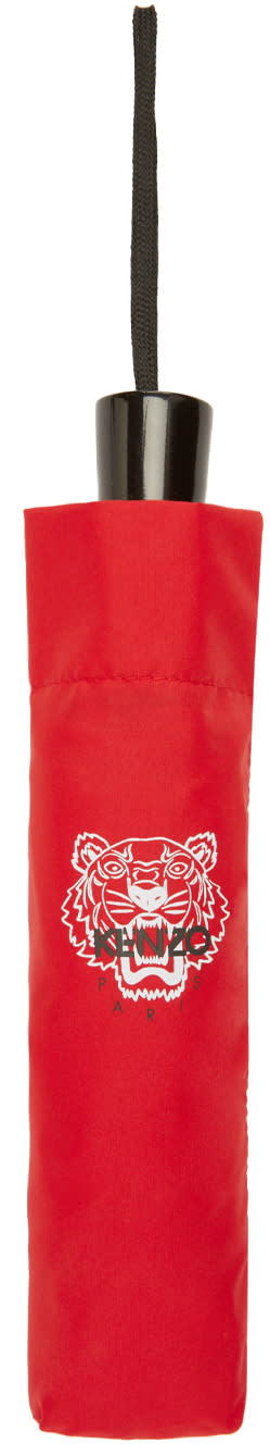 Kenzo Red Tiger Compact Umbrella