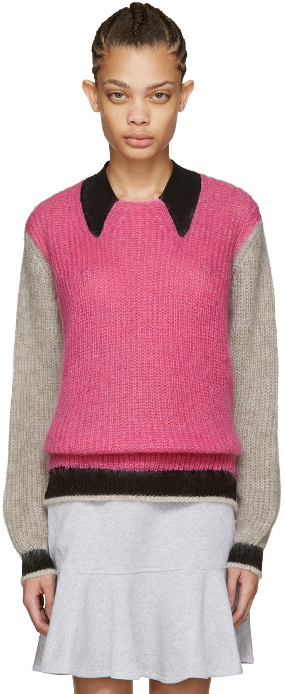 Kenzo Pink Mohair Sweater