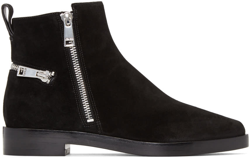 Kenzo Black Totem Ankle Boots