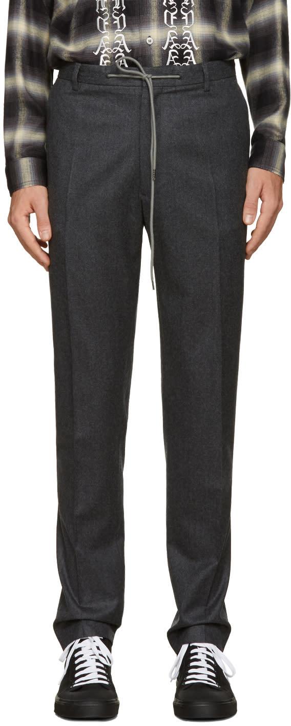 Kenzo Grey Drawstring Trousers