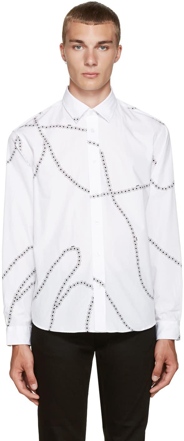 Kenzo White Floral Shirt