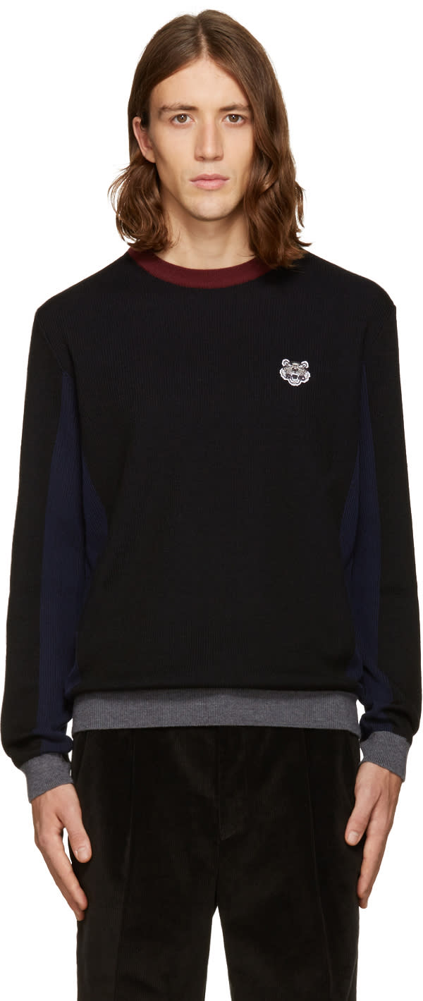Kenzo Tricolor Tiger Sweater