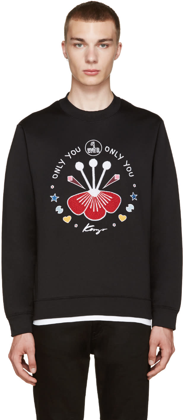 Kenzo Black Only You Pullover