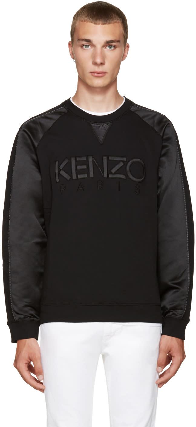 Kenzo Black Paris Pullover