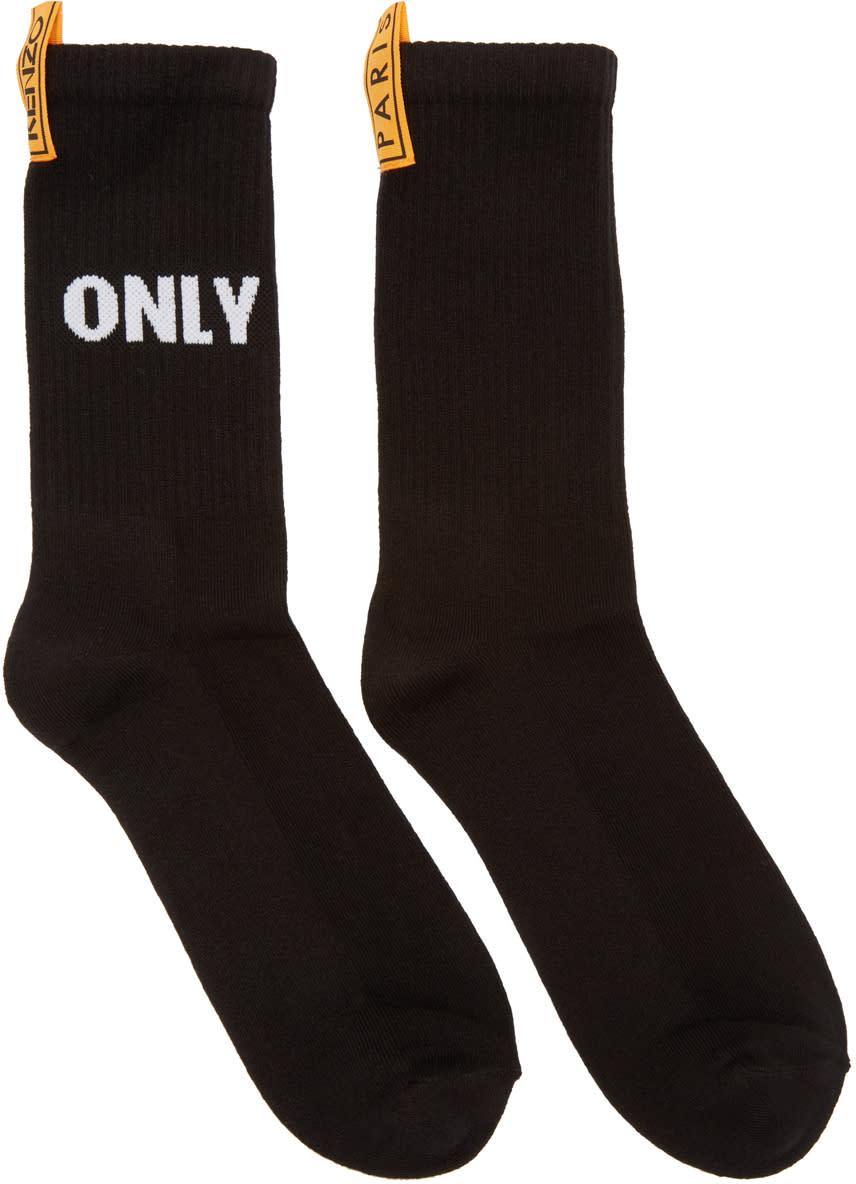 Kenzo Black only You Socks