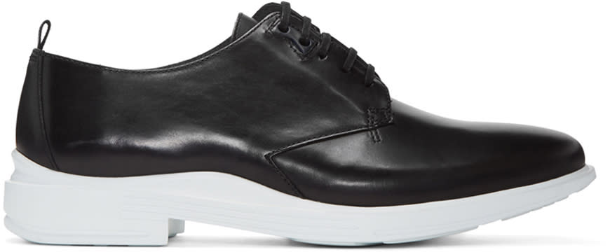 Kenzo Black Leather Derbys