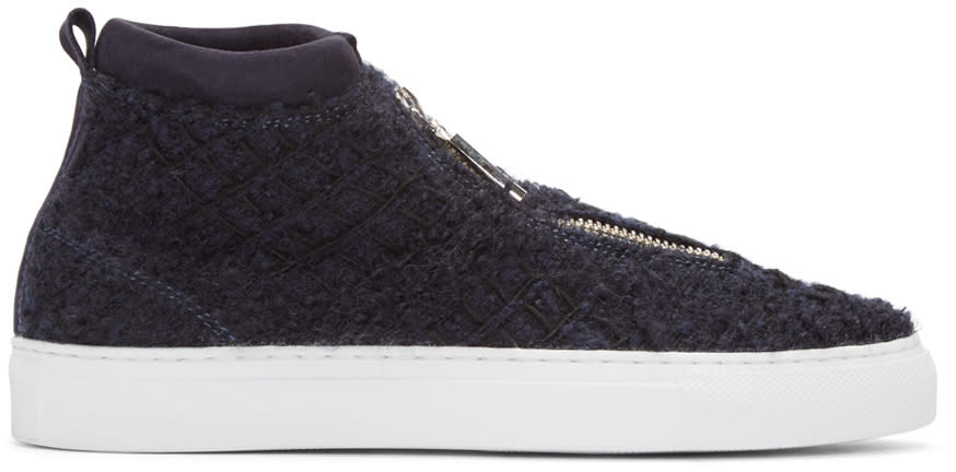 Diemme Navy Tweed Fontesi Sneakers