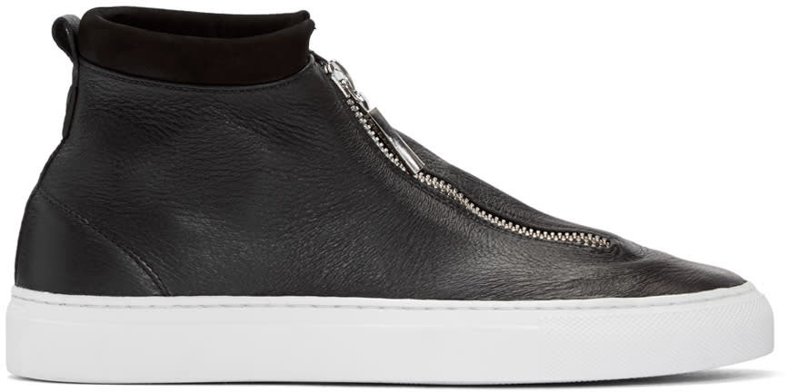 Diemme Black Deerskin Fontesi Sneakers