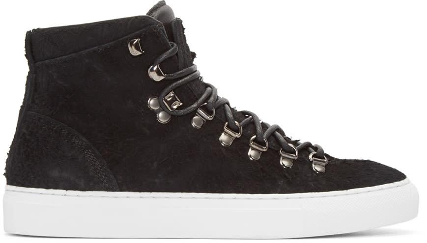 Diemme Black Suede Marostica Mid-top Sneakers