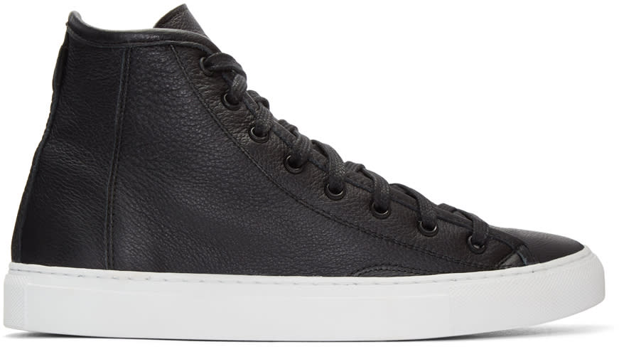 Diemme Black Veneto Alto High-top Sneakers