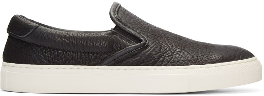 Diemme Black Garda Slip-on Sneakers