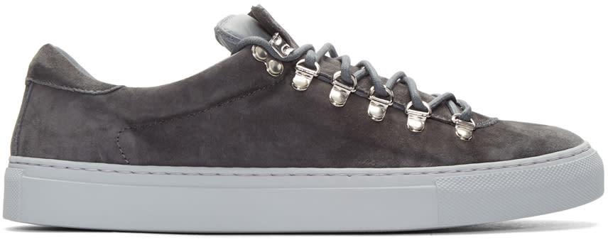 Diemme Grey Suede Marostica Sneakers