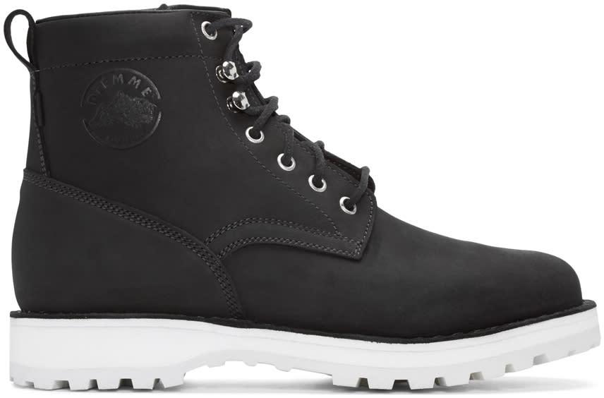 Diemme Black Nubuck Firenze Boots
