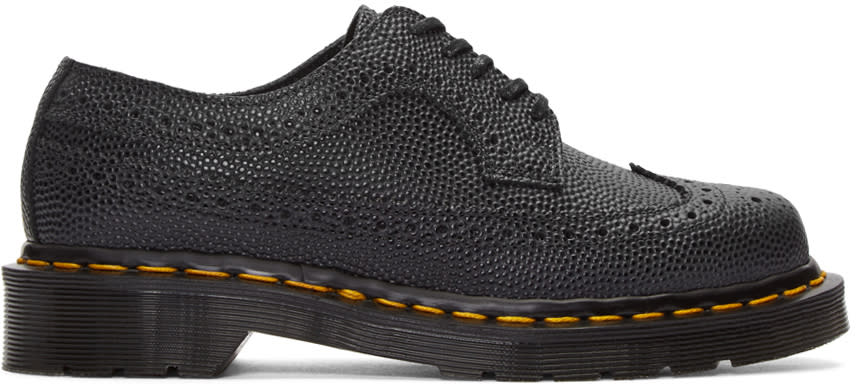 Dr. Martens Black Made In England Brogues