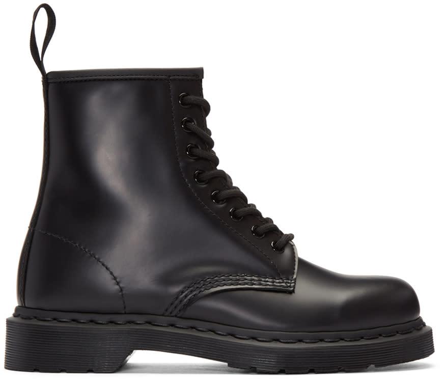 Dr. Martens Black Eight-eye 1460 Mono Boots