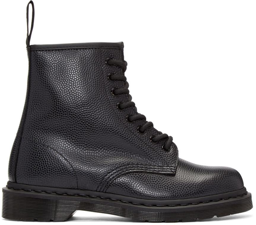 Dr. Martens Black Eight-eye 1460 Boots