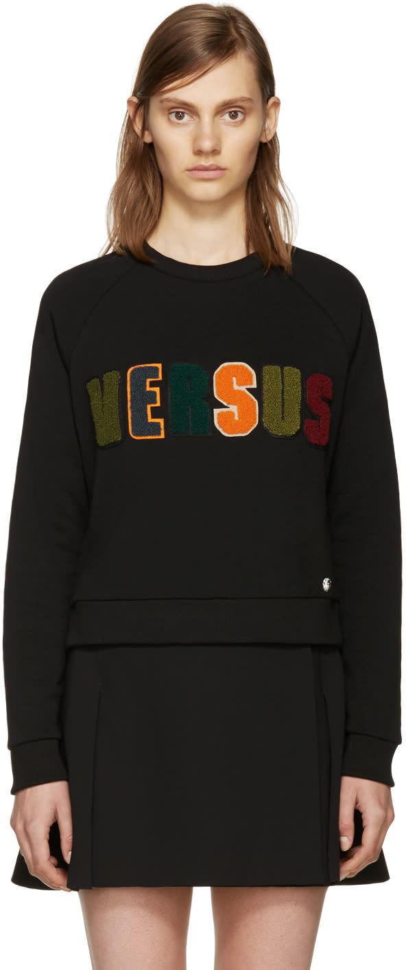 Versus Black Logo Sweatshirt