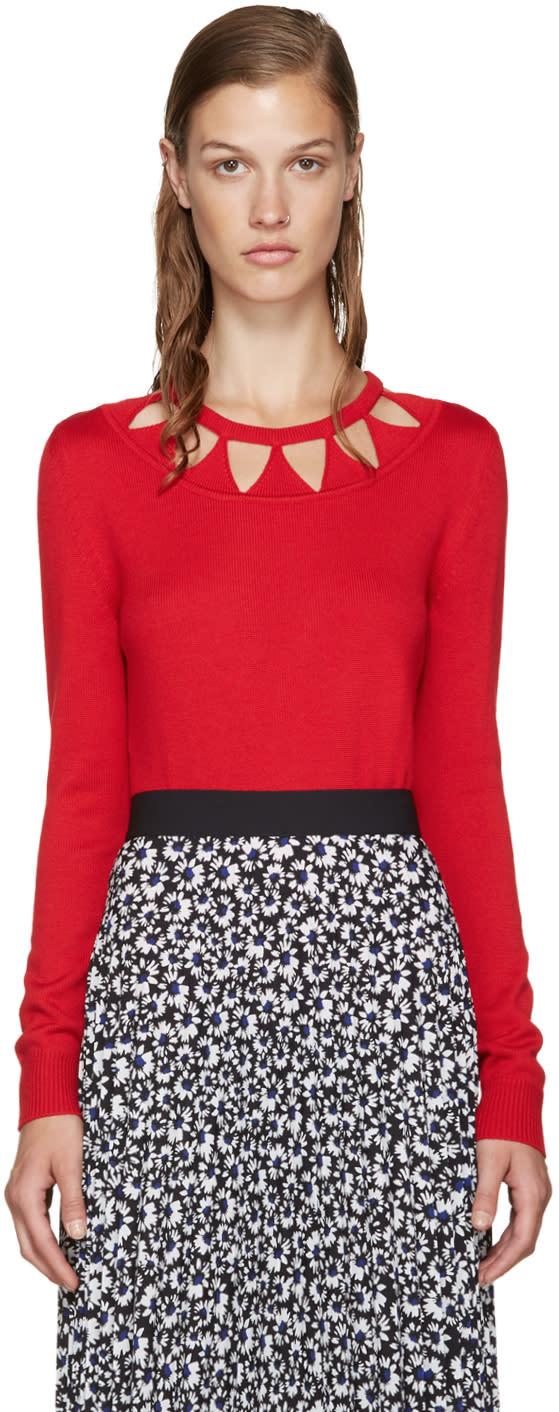 Altuzarra Red Wool Woodward Sweater