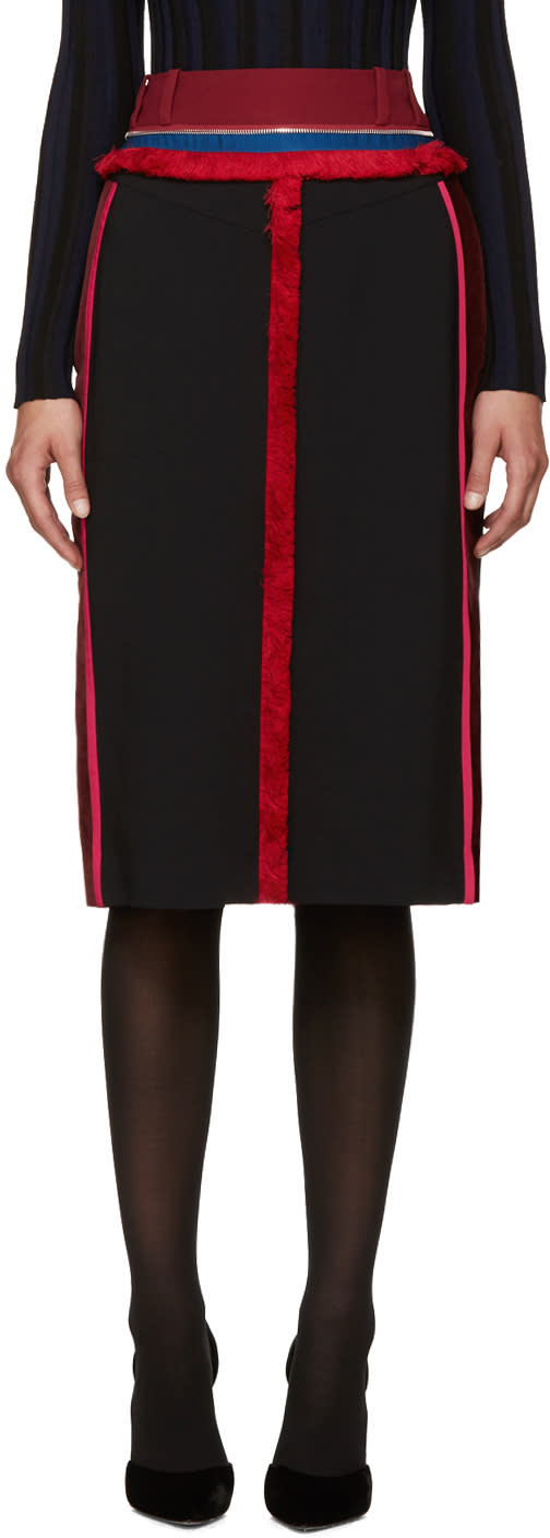 Altuzarra Black Alec Skirt