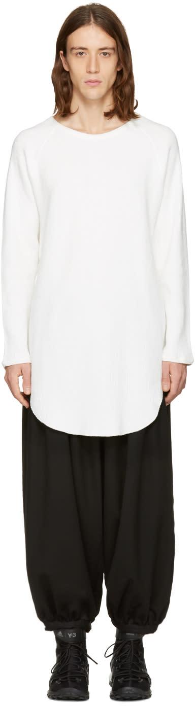 Sasquatchfabrix White Cut Sewn Pullover