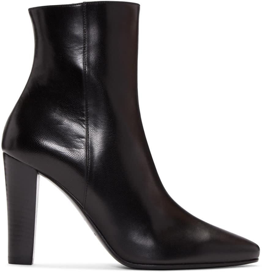Saint Laurent Black Lily Boots