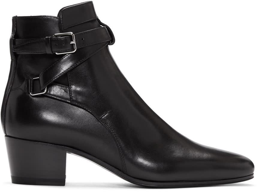 Saint Laurent Black Blake Boots