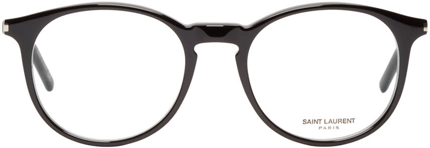 Saint Laurent Black Sl 106 Optical Glasses