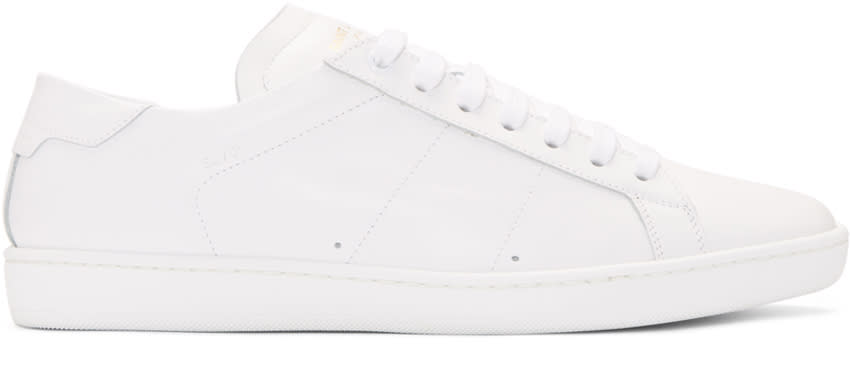 Saint Laurent Off-white Court Classic Sneakers