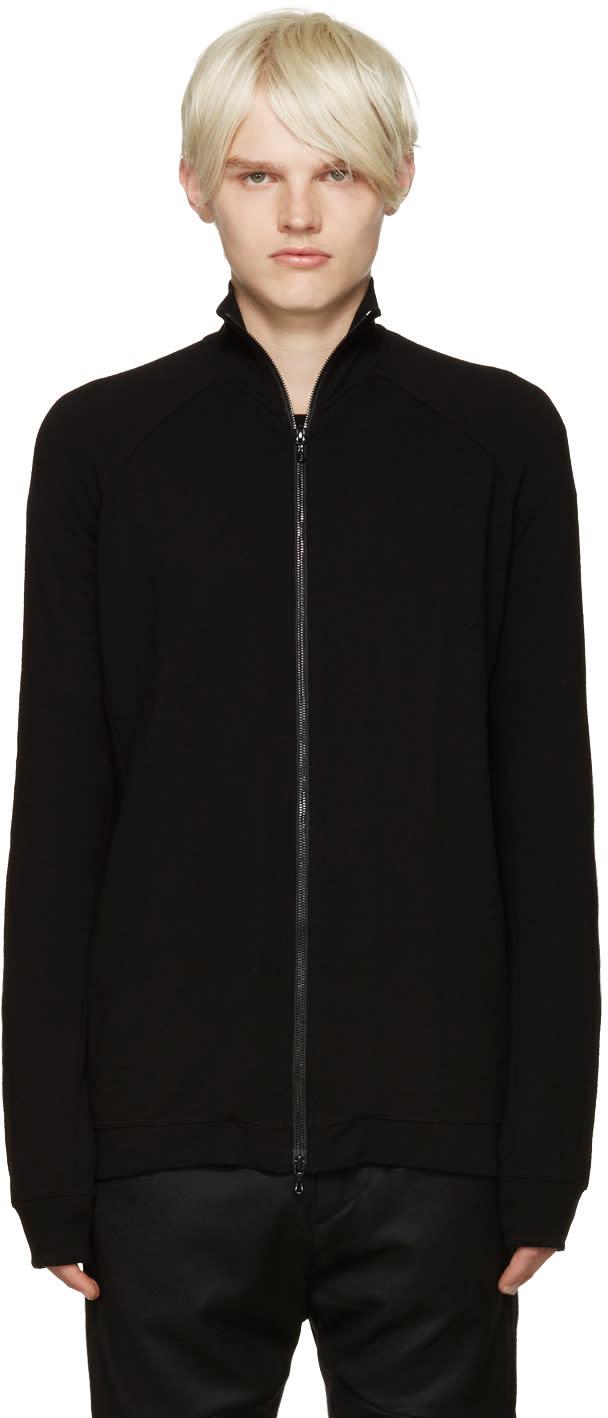 Julius Black Zip-up Sweater