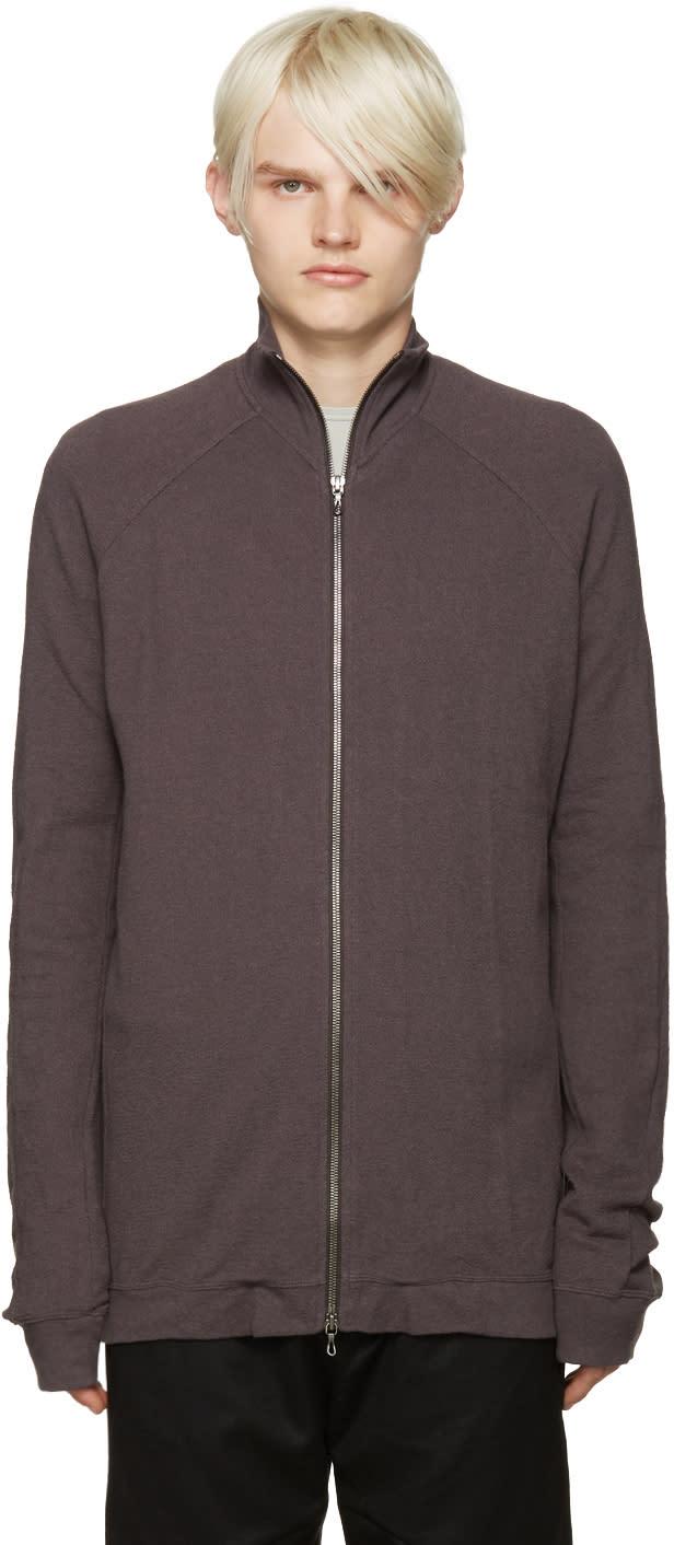 Julius Grey Zip-up Sweater