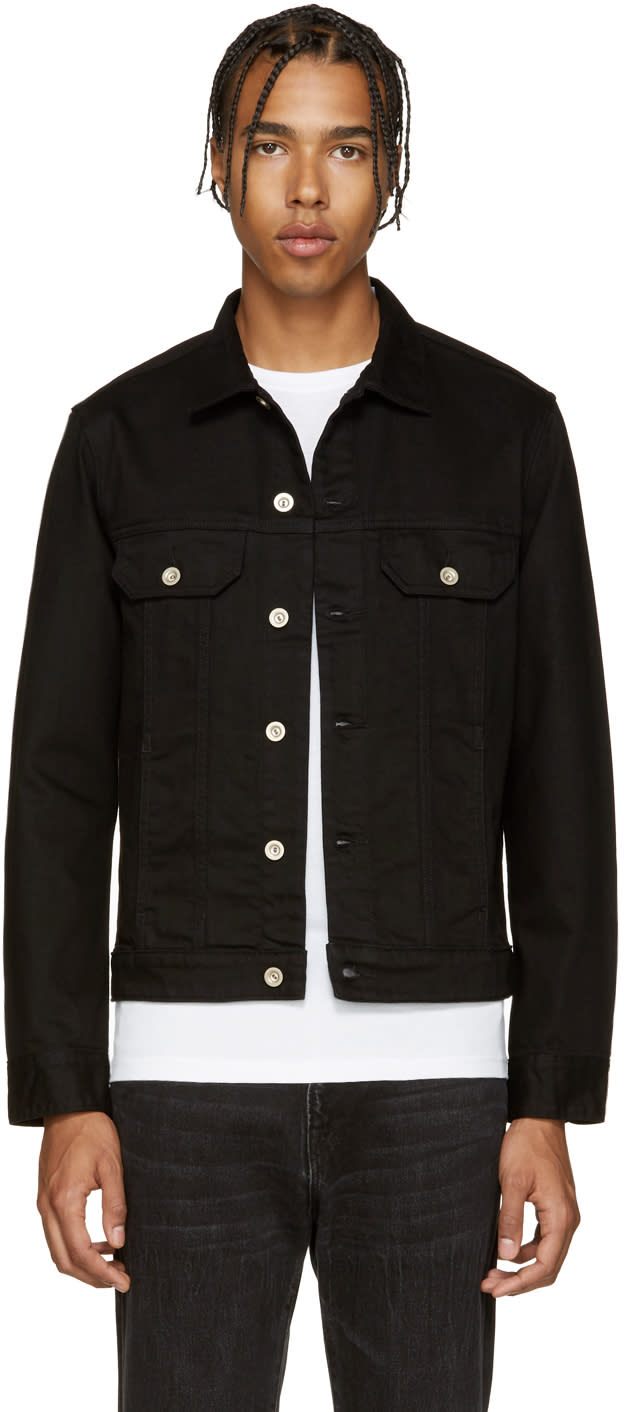 Ps By Paul Smith Black Denim Jacket