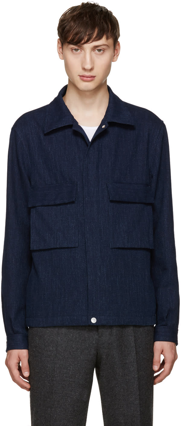 Ps By Paul Smith Blue Denim Jacket