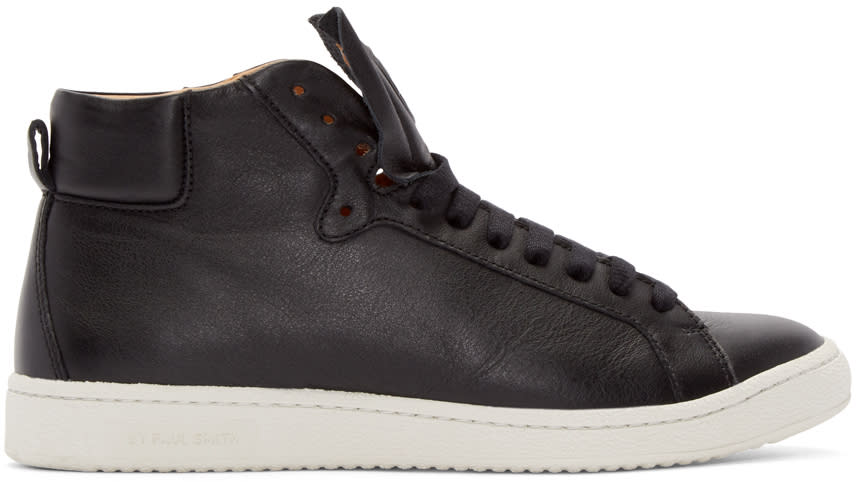 Ps By Paul Smith Black Kim High-top Sneakers