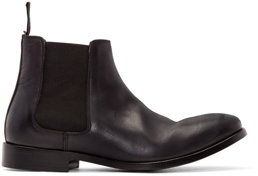 Ps By Paul Smith Black Lydon Chelsea Boots