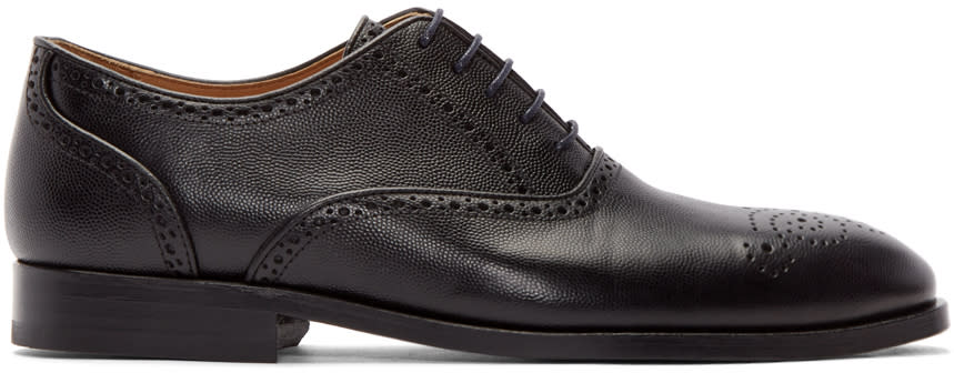 Ps By Paul Smith Black Gilbert Brogues