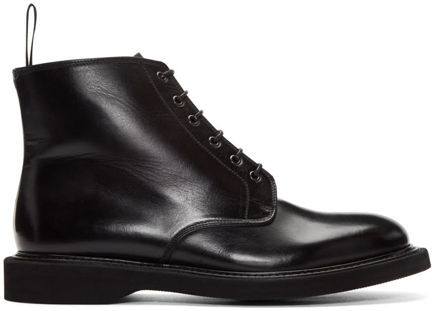 Ps By Paul Smith Black Patrick Boots