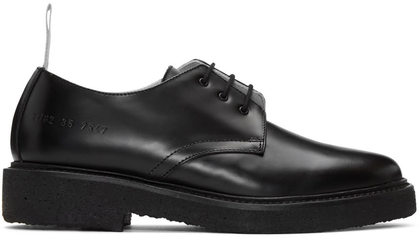 Woman By Common Projects Black Cadet Derbys