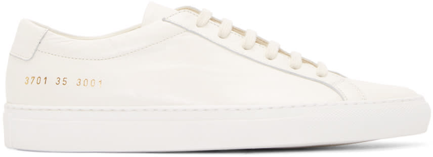 Woman By Common Projects Off-white Original Achilles Sneakers
