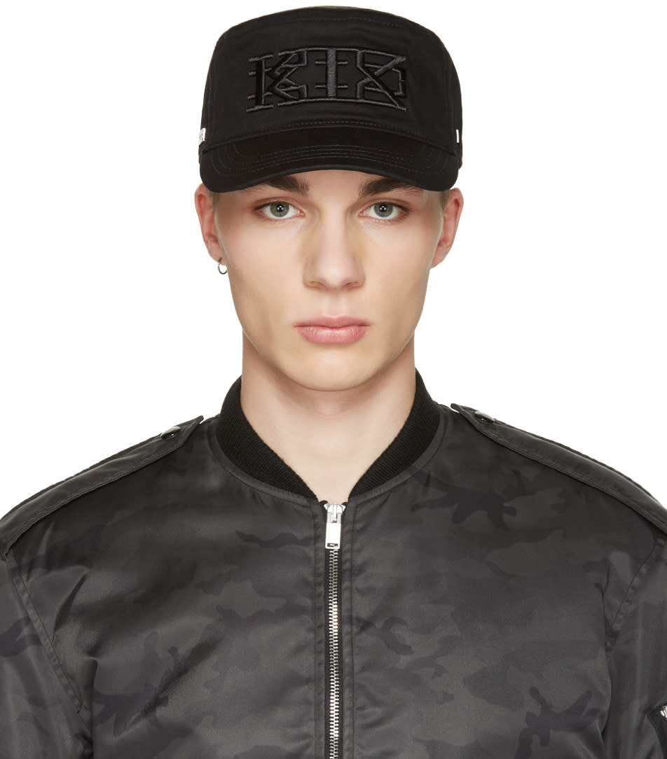 Ktz Black Flat Cap