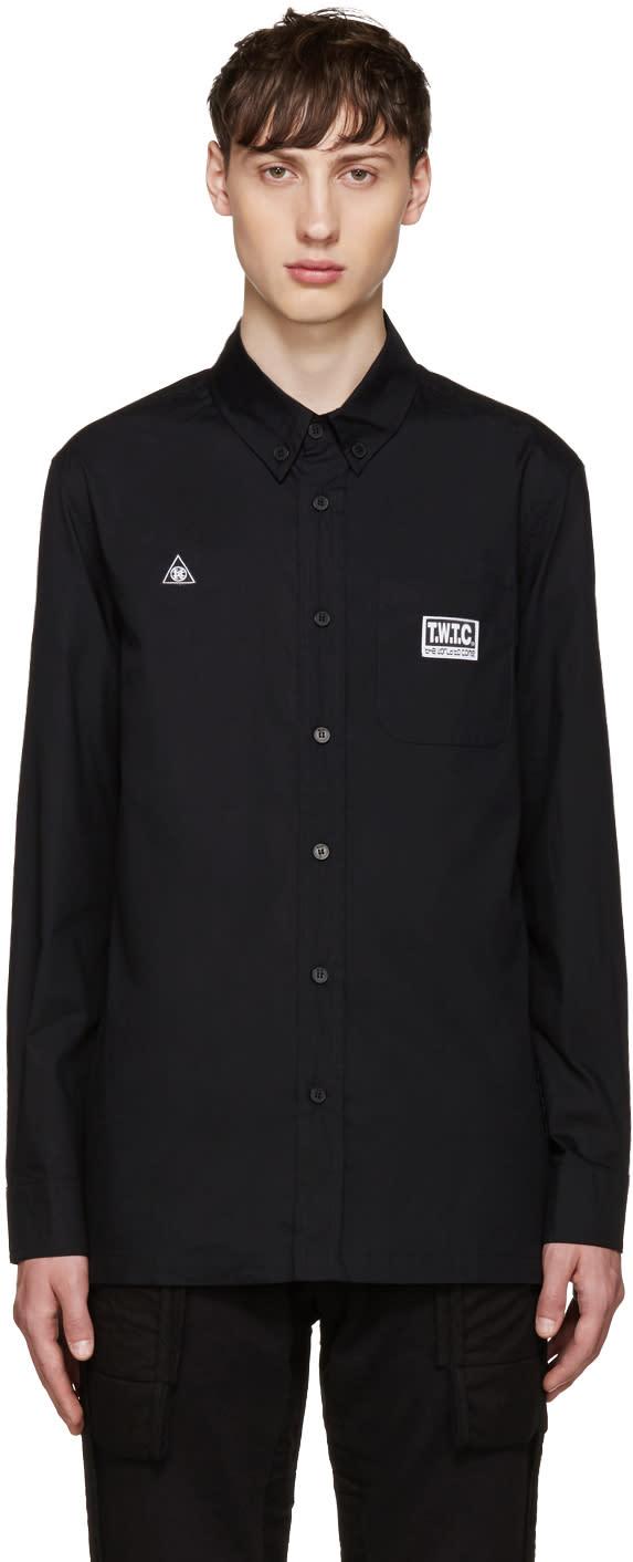 Ktz Black Patches Shirt