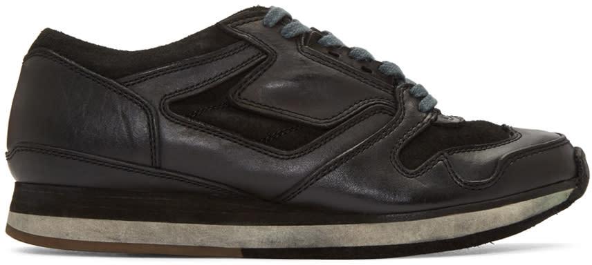 Sacai Black Hender Scheme Edition Leather Sneakers